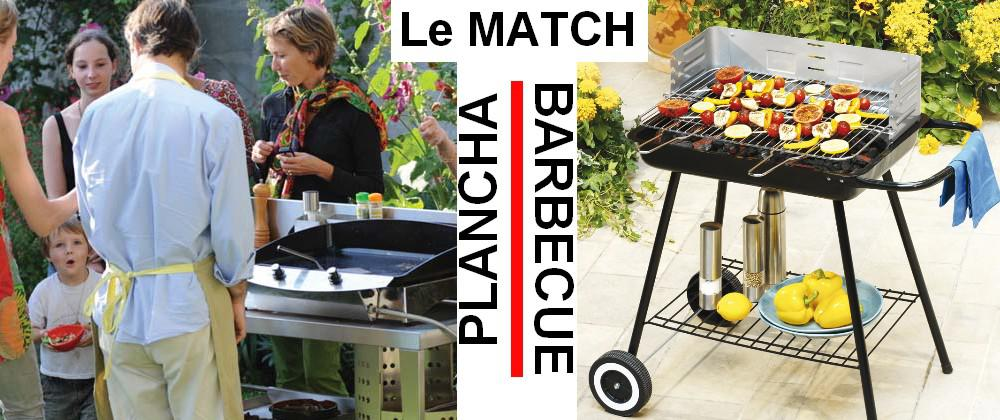 plancha barbecue le match