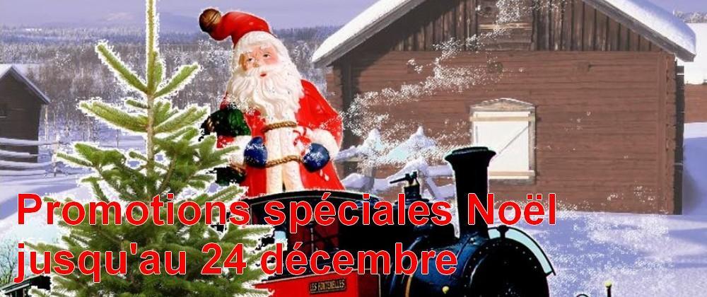 Promotions spéciales Noël