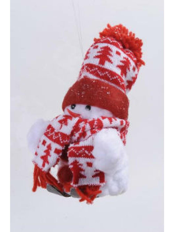 Bonhomme de neige a suspendre - Chapeau bonhomme de neige ...