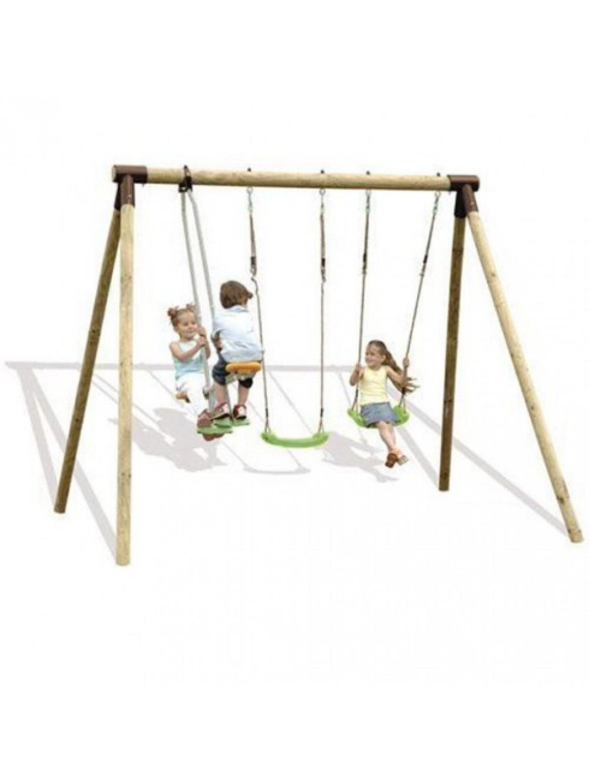 portique enfants 2 balan oires 1 face face les jeux de. Black Bedroom Furniture Sets. Home Design Ideas
