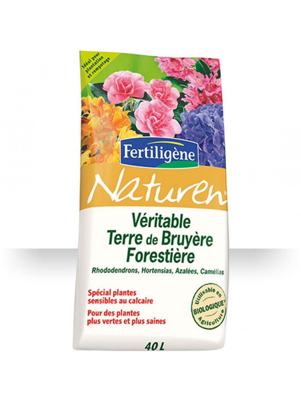 V ritable terre de bruy re 40l naturen fertiligene le - Terre de bruyere prix ...