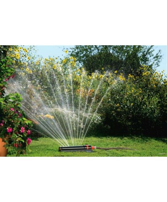 Arroseur oscillant aquazoom 250 2 gardena l 39 arrosage for Arrosage jardin gardena