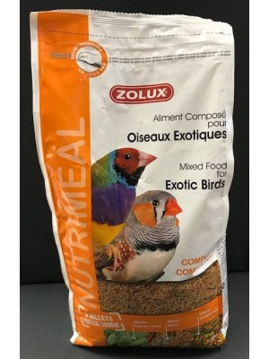 Aliment nutriméal exotiques Zolux