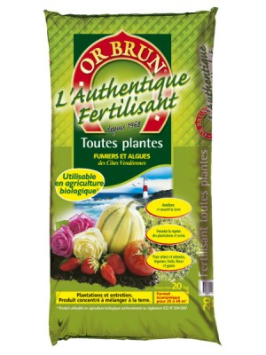 AUTHENTQUE FERTILISANT 20 kg S15771