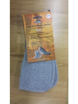 Chausson botte tricot