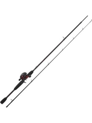 Ensemble canne baitcasting max abu black garcia plus moulinet black max
