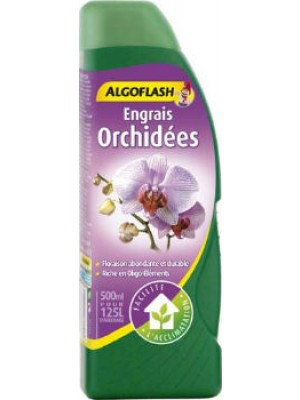 ENGRAIS ORCHIDEES LIQUIDE 500ml ALGOFLASH