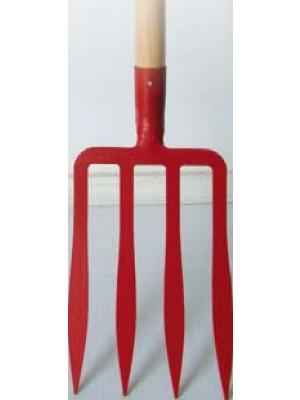 Fourche à bêcher dents spatulée