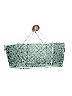 PANIER A COQUILLAGES METALLIQUE 15L AUTAIN