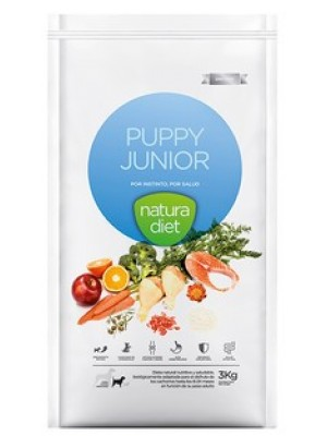 Puppy junior Natura diet