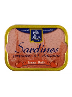 Sardines tomates basilic
