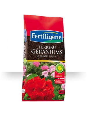 TERREAU GERANIUMS 40L S14914