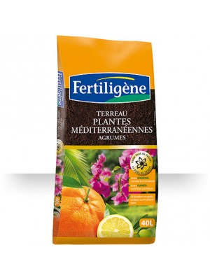 TERREAU PLANTES MEDITERRANEENNES AGRUMES 40L S0149297