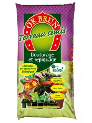 TERREAU SEMIS 20L OR BRUN