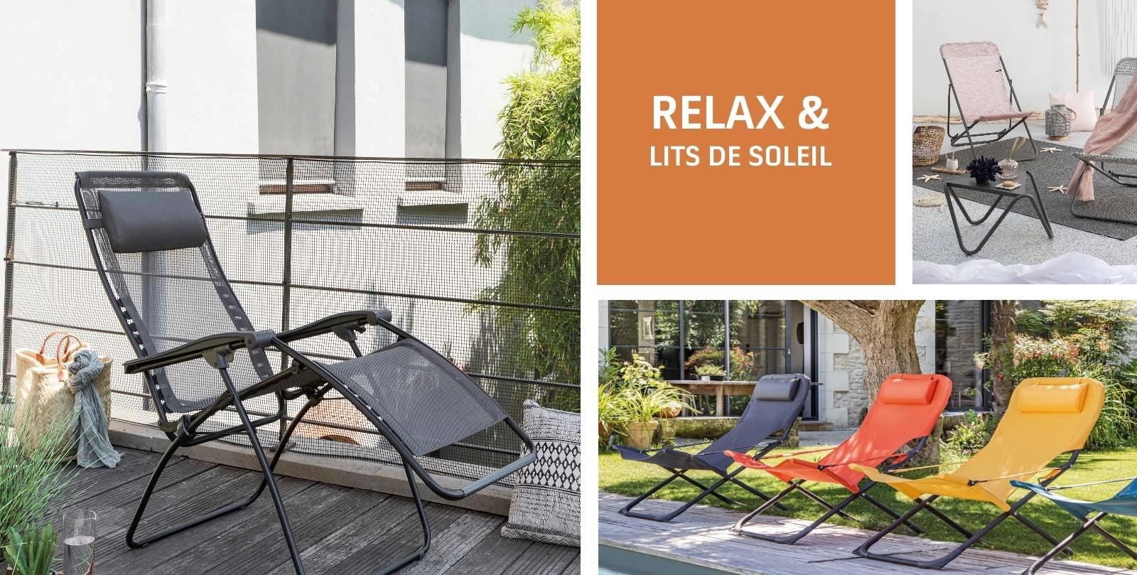 RELAX & LITS DE SOLEIL