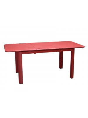 TABLE LEO  ROUGE 130/180