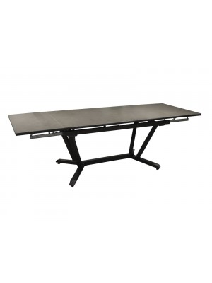 VITA TABLE 150/250 ALU CERAM KEDRA - GRAPHITE/ALLEY