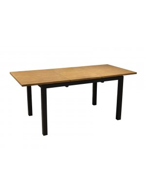 TABLE COME 240 - GRAPHITE/OAK