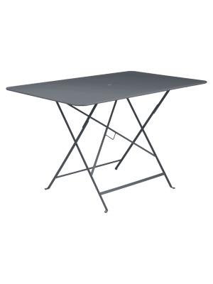 BISTRO TABLE PLIANTE 117X77  CARBONE