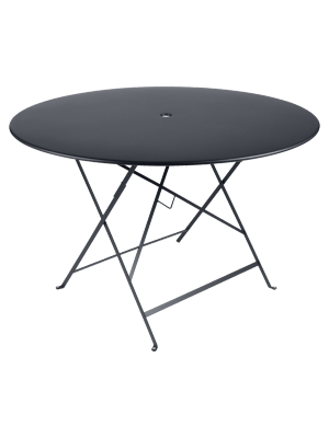 BISTRO TABLE PLIANTE D117  CARBONE