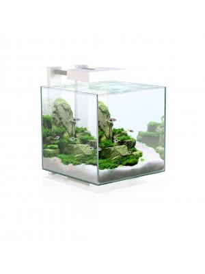Aquarium Nexus, avec filtre et LED: blanc, 22 litres