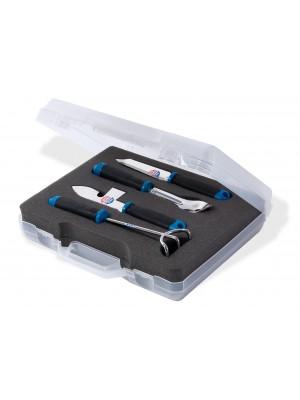 Coffret outils de pêche à pied inox
