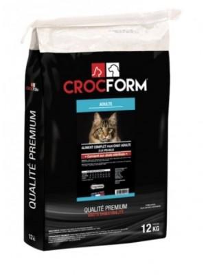 """Croquettes """"Premium Stérilisé Light"""" pour chat - 12 kg - CROCFORM"""