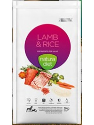 Lamb and rice NATURA DIET