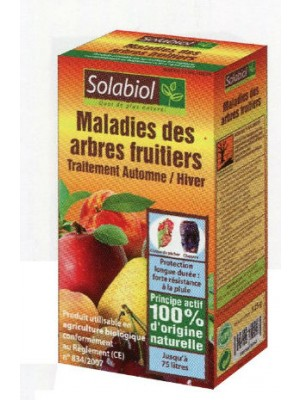 MALADIES DES ARBRES FRUITIERS 125GR SOLABIOL