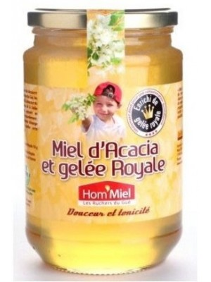 Miel acacia et gelée royale