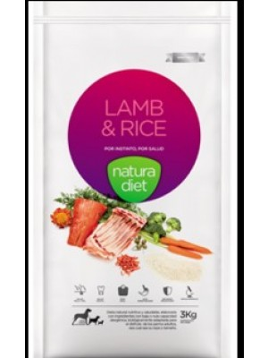 Natura diet lamb rice 12 kg