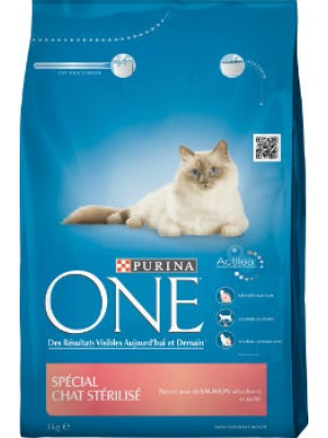 ONE STERELISED SAUMON PURINA 3KG