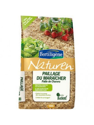 PAILLAGE DE Chanvre 100L NATUREN FERTILIGENE