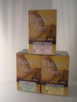 VDP SEDUCTION PLANETE VIN ROSE BIB 5 l