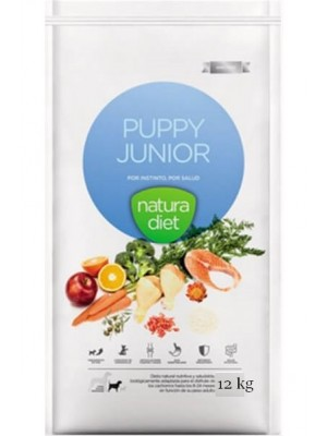 Puppy junior NATURADIET 12 kg