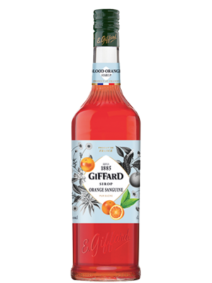 SIROP ORANGE SANGUINE 1L GIFFARD