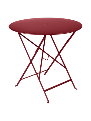 BISTRO TABLE PLIANTE D77  PIMENT