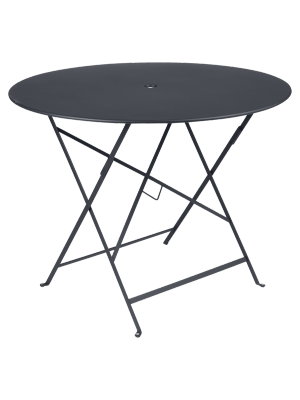 BISTRO TABLE PLIANTE D96  CARBONE