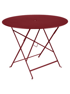 BISTRO TABLE PLIANTE D96  PIMENT