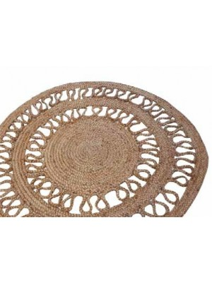 Tapis jute naturel