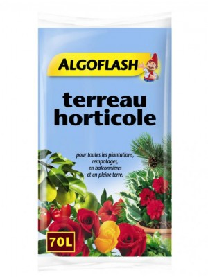 TERREAU HORTICOLE 70L ALGOFLASH