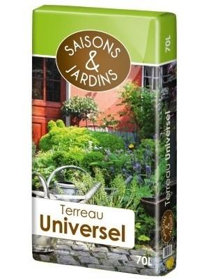 Terreau universel Saisons&jardins